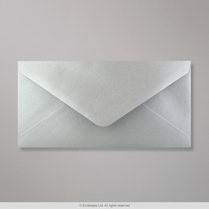 110x220 mm (DL) Zilver Envelop