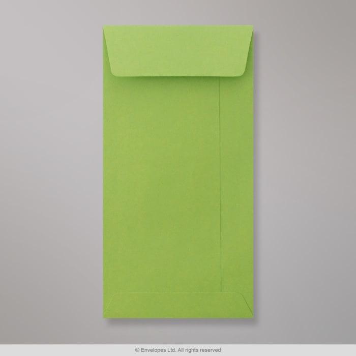 220x110 mm (DL) Zielona woreczkowa koperta