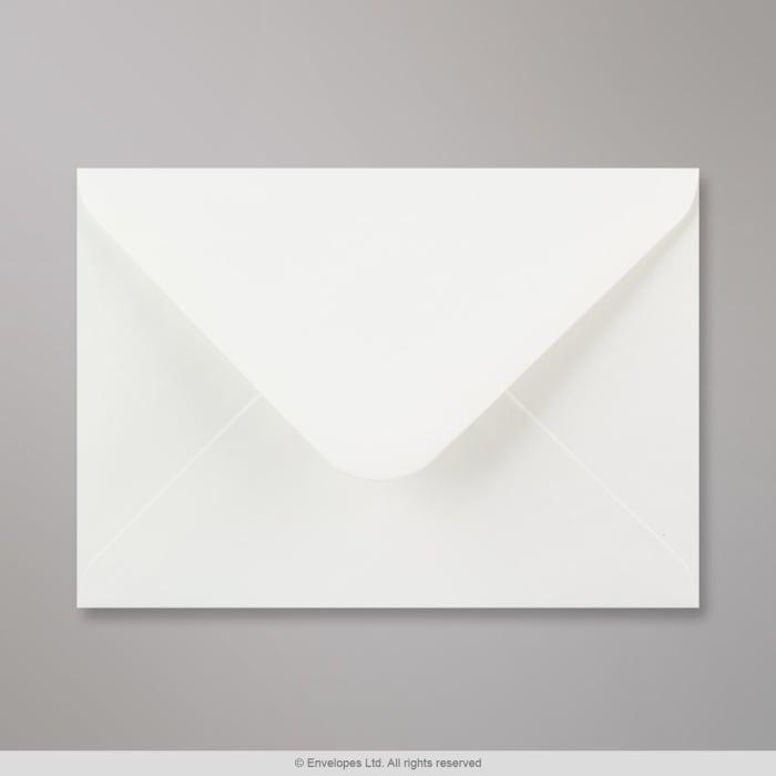 Enveloppe blanche vergée 133x184 mm
