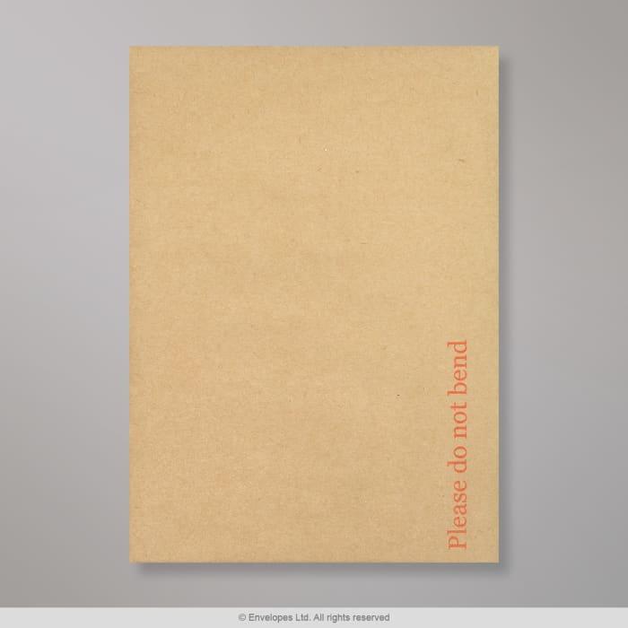 162x114 mm (C6) Manilla Boord Achterkant Envelop