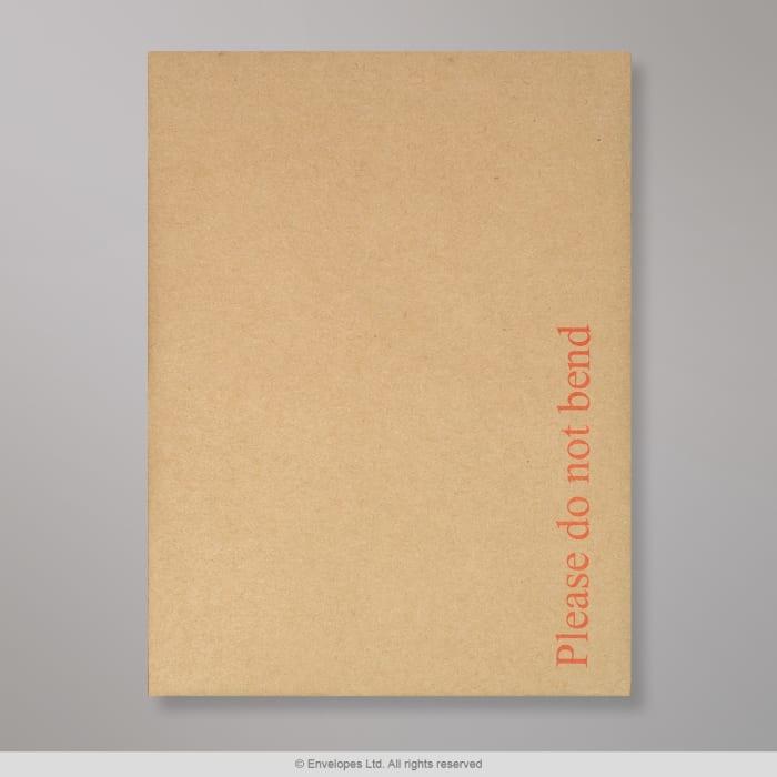 190x140 mm Manilla Boord Achterkant Envelop