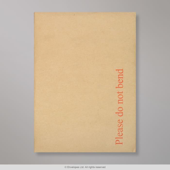 229X162 mm Manilla Boord Achterkant Envelop