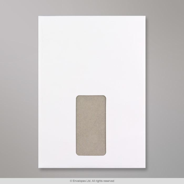 229x162 mm (C5) Busta cartonata bianca