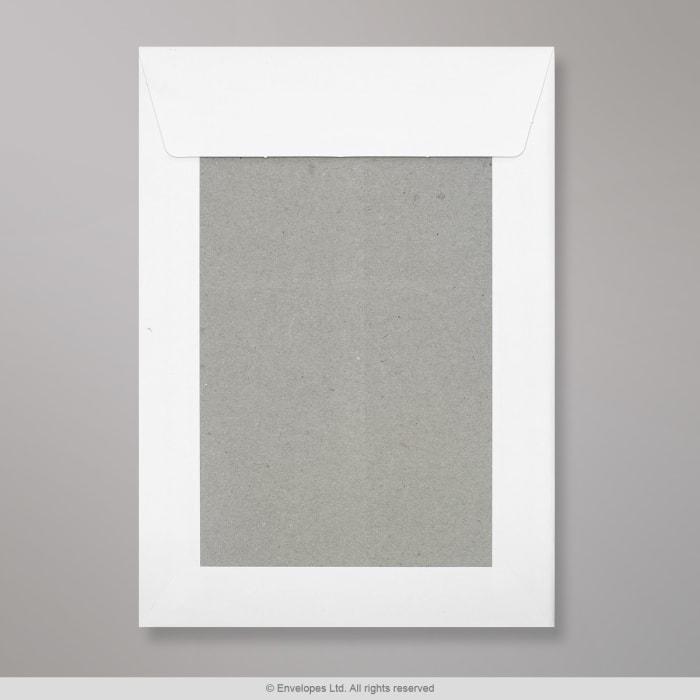 229x162 mm (C5) Wit Boord-Achterkant Envelop