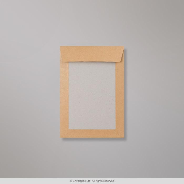 Manillanvärinen pahvitaustainen kirjekuori 250x176 mm