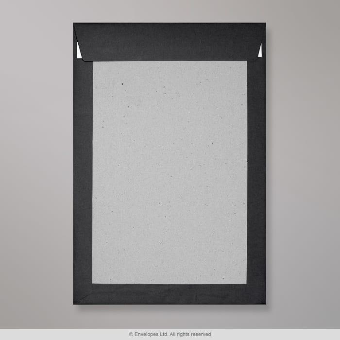Musta pahvitaustainen kirjekuori 324x229 mm (C4)