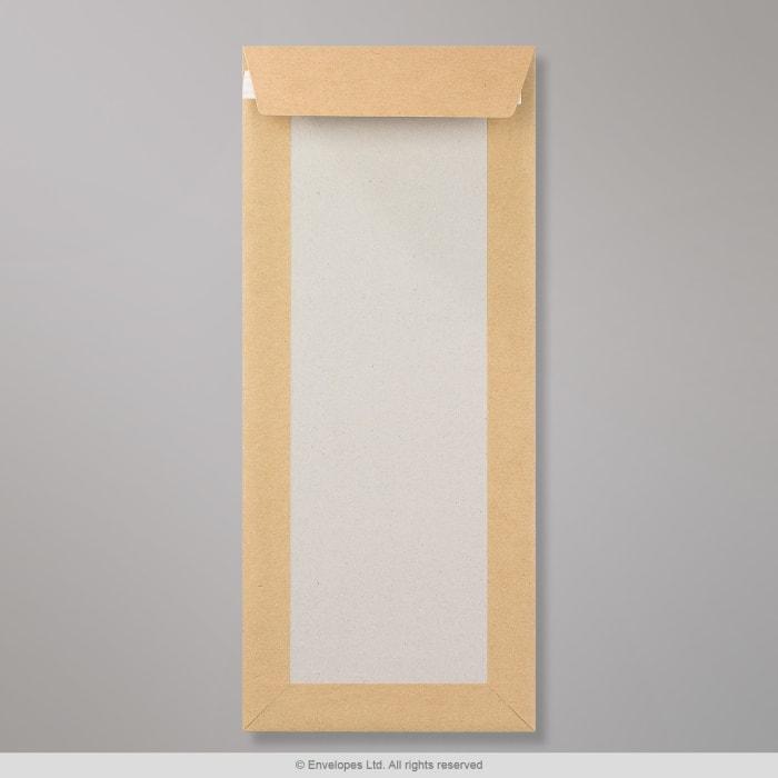 350x150 mm Manilová obálka s kartónovou zadnou stenou