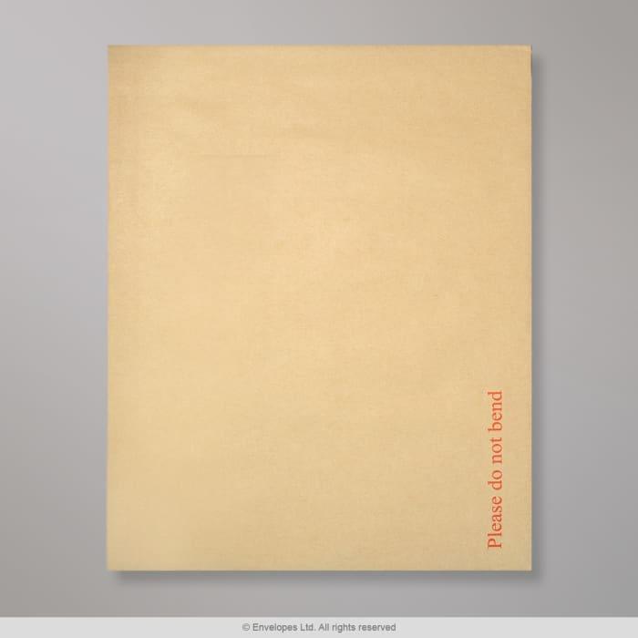 Enveloppe manille- dos cartonné 394x318 mm