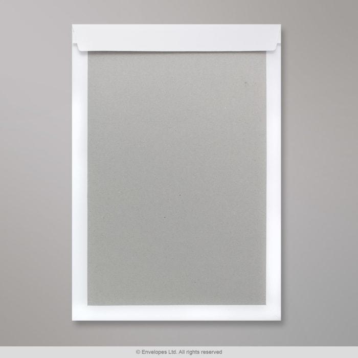 457x324 mm (C3) Biała koperta z kartonową tylną ścianką