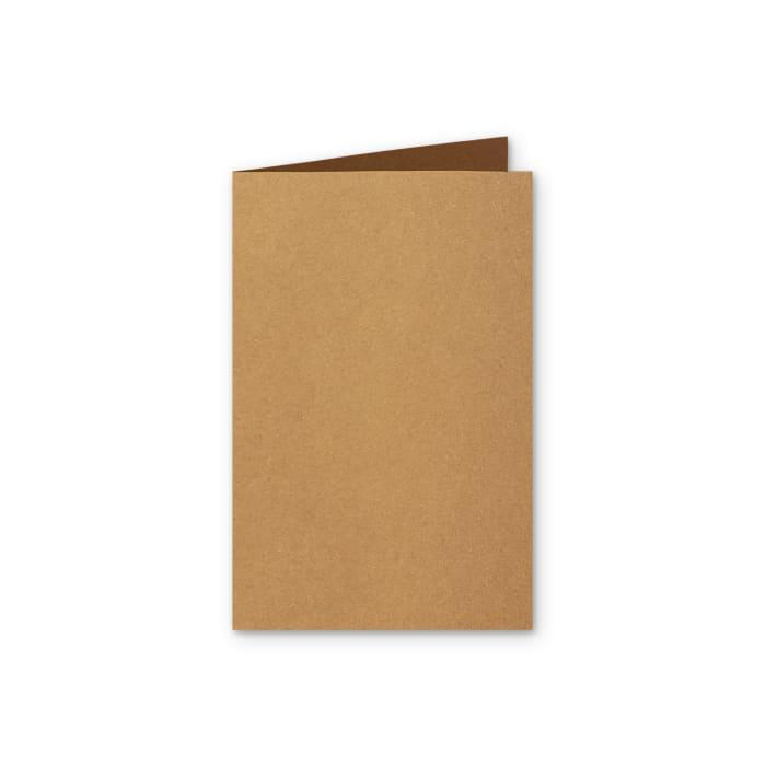 Biglietti in carta riciclata Kraft de 280 g/m² 128 x 178 mm