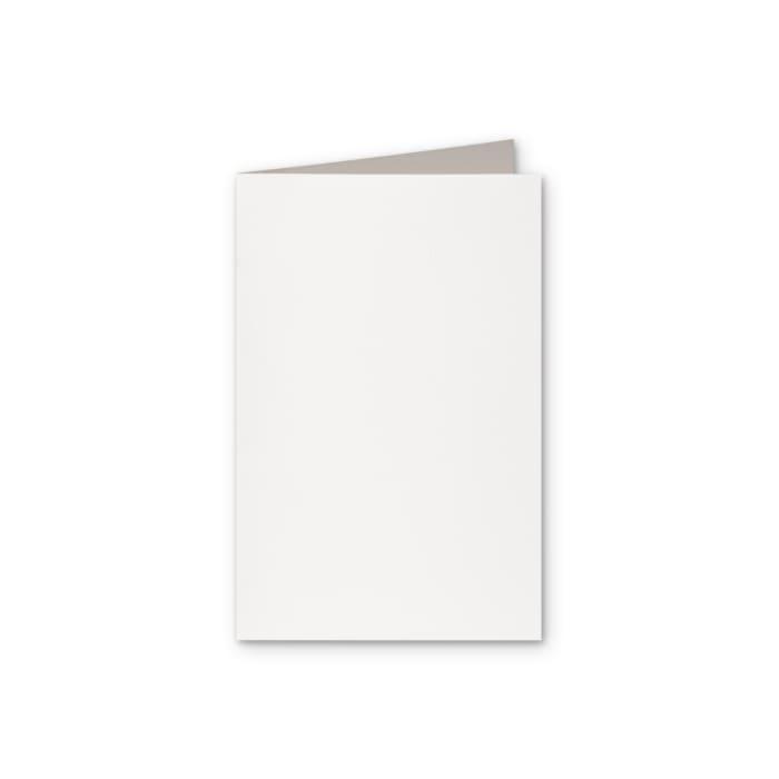 Biglietti in carta riciclata colore bianco di 300 g/m² 128 x 178 mm
