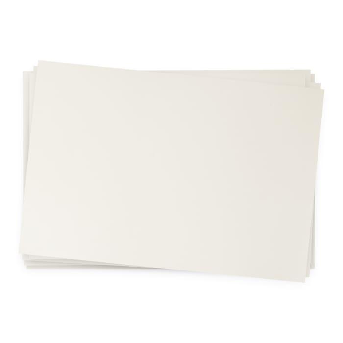 Tarjeta de papel reciclado blanco puro Nautilus de 250 g/m² (A4)