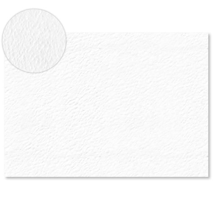 Tarjeta de papel blanco con efecto martillo de 300 g/m² (A4)
