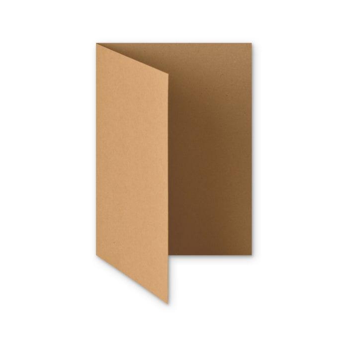 Tarjeta de papel reciclado Fleck Kraft de 280 g/m² (A5)