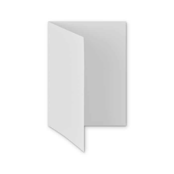 Biglietti in carta riciclata colore bianco di 300 g/m² (A5)
