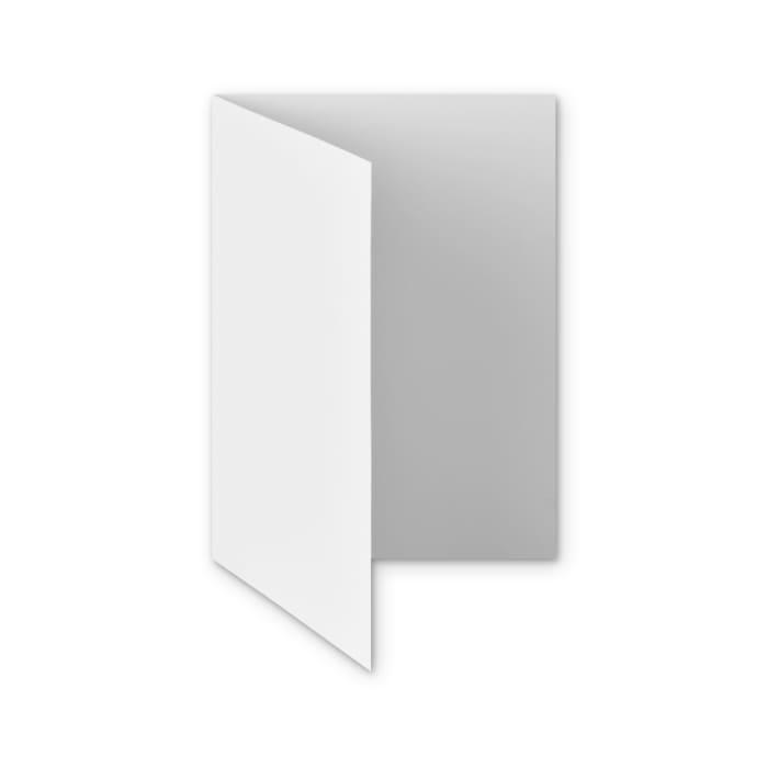 Tarjeta de papel blanco con efecto martillo de 300 g/m² (A5)