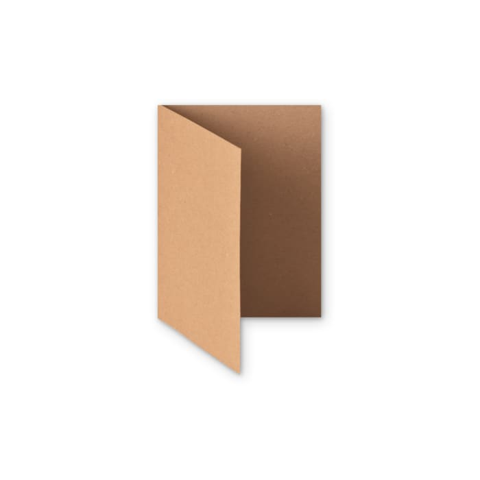 Recyclingpapier-karte Kraft von 280 g/m² (A6)