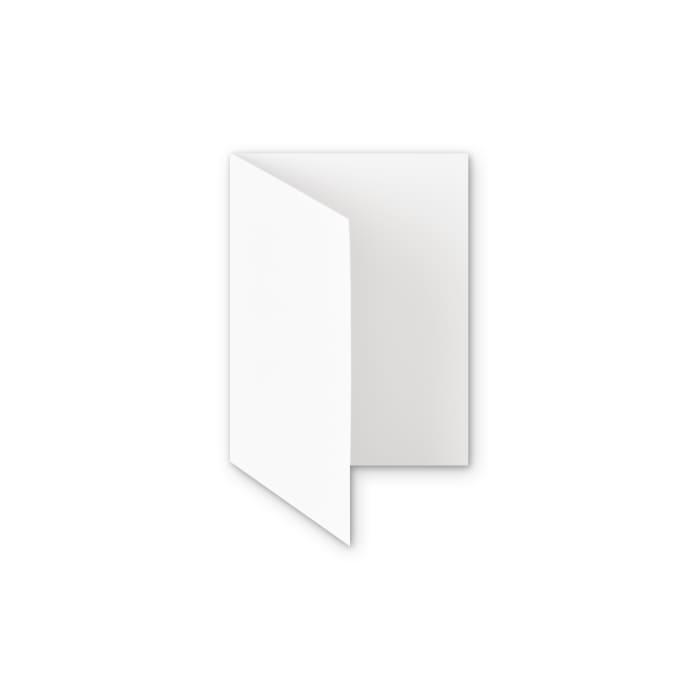 Karta z papieru z recyklingu biała 300 g/m² (A6)