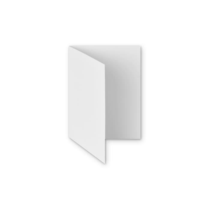 Carte en papier blanc avec finition martelée 300 g/m² (A6)