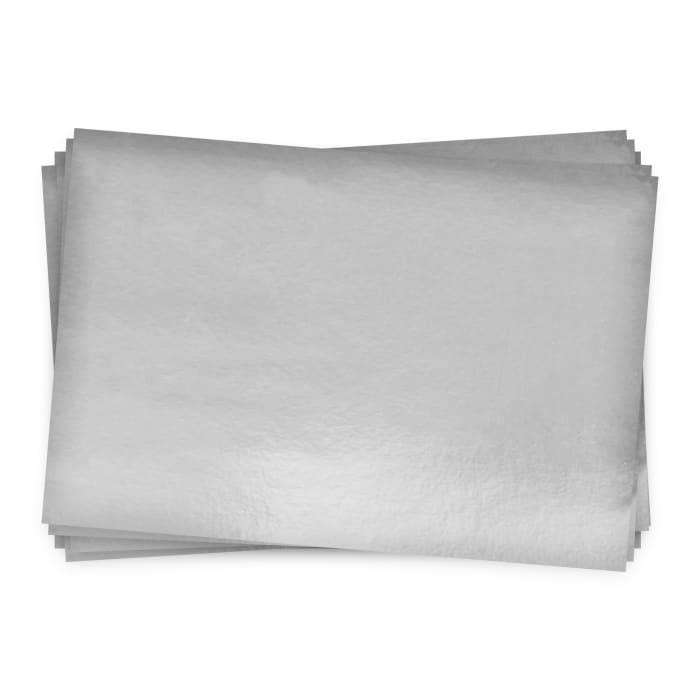 Carte en papier finition miroir argenté 280-300 g/m² (A4)