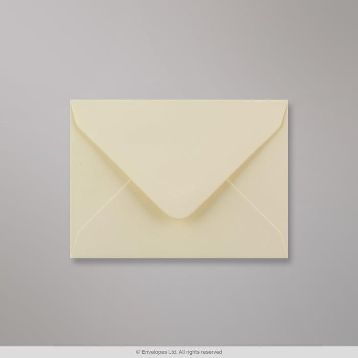 Cremefarvet konvolut 82x113 mm (C7)