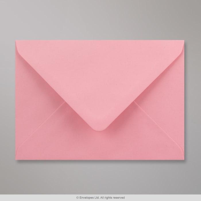 Vaaleanpunainen kirjekuori 125x175 mm