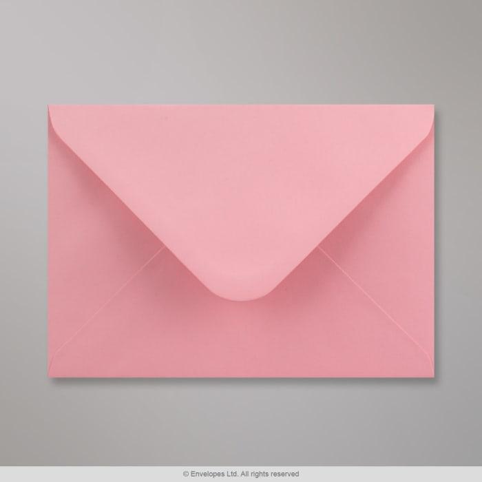 Lyserød konvolut 133x184 mm