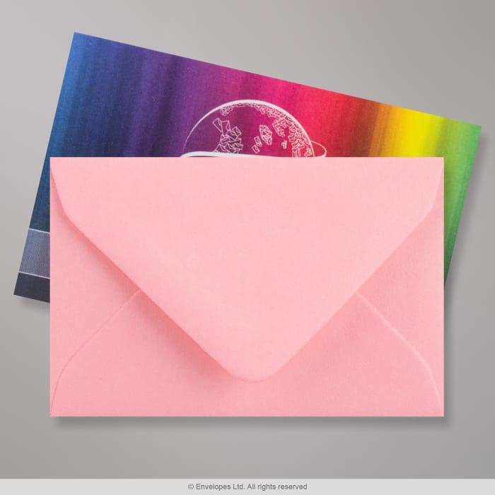 Rosa Briefumschlag 62x94 mm