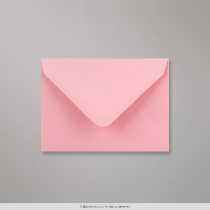 Vaaleanpunainen kirjekuori 82x113 mm (C7)