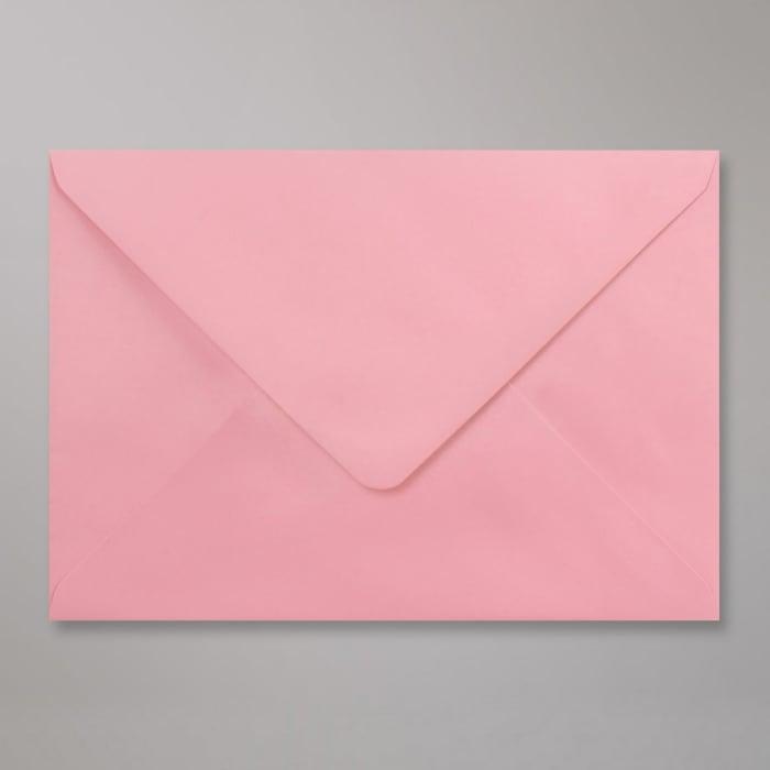 Vaaleanpunainen kirjekuori 162x229 mm (C5)