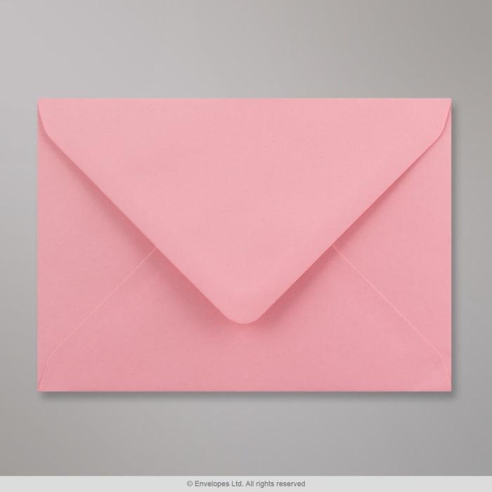 Lyserød konvolut 114x162 mm (C6)