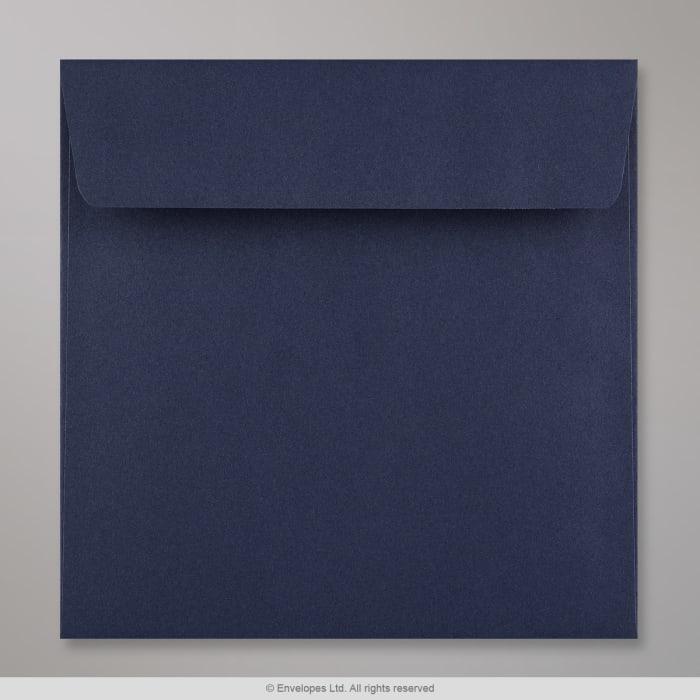 Sobre Clariana azul oscuro de 155x155 mm