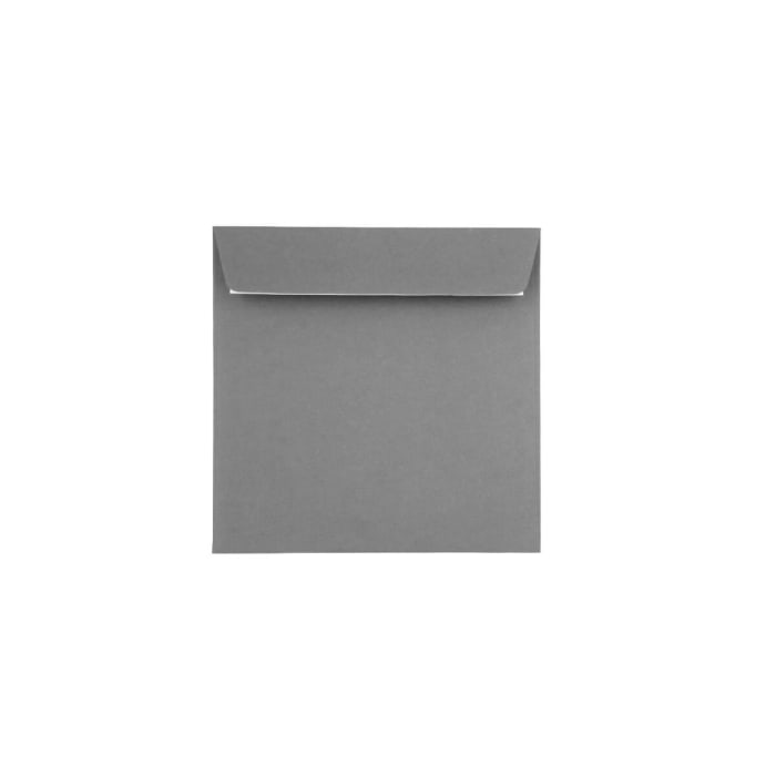 Sobre Clariana gris de 155x155 mm