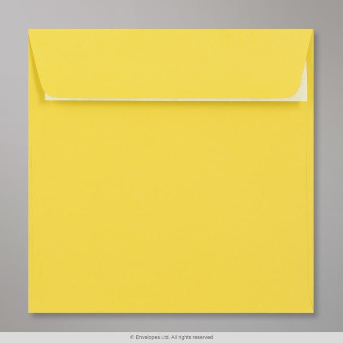 Sobre Clariana amarillo de 155x155 mm