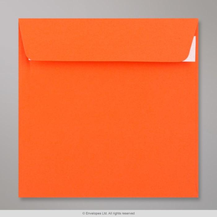 Clariana, oranssi kirjekuori 155x155 mm
