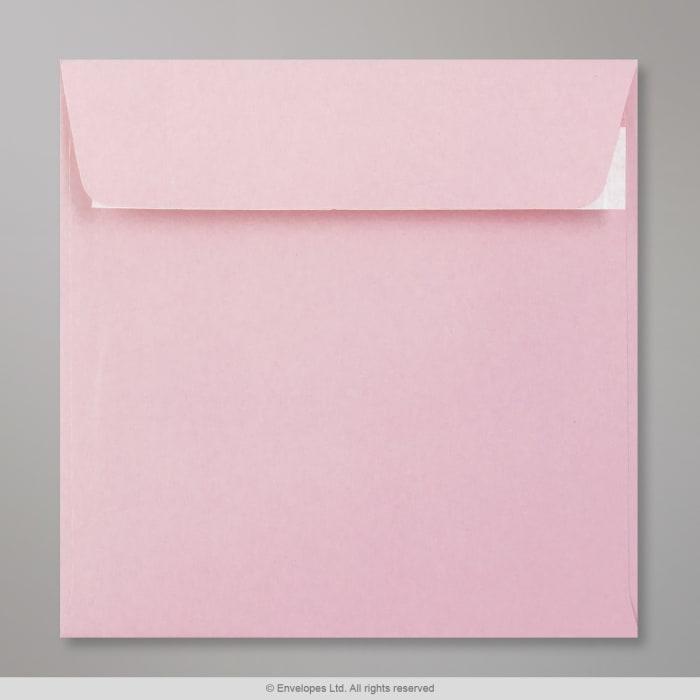 Enveloppe Clariana rose pâle 155x155 mm