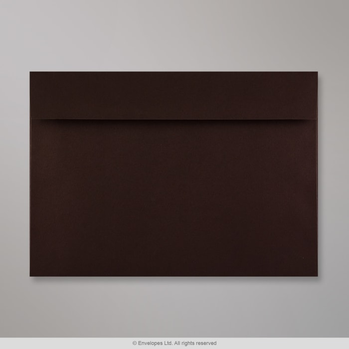Sobre Clariana marrón oscuro de 162x229 mm (C5)