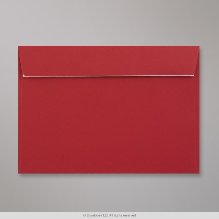 Sobre Clariana rojo oscuro de 162x229 mm (C5)