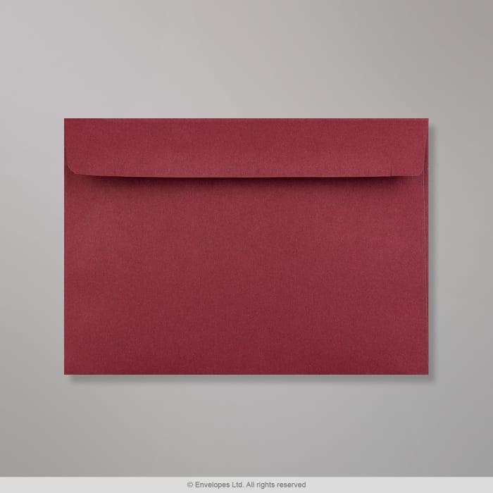 Enveloppe Clariana bordeaux 114x162 mm (C6)
