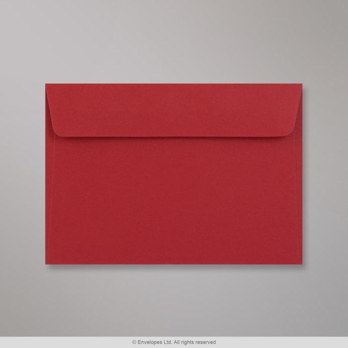 114x162 mm (C6) Tmavočervená obálka Clariana