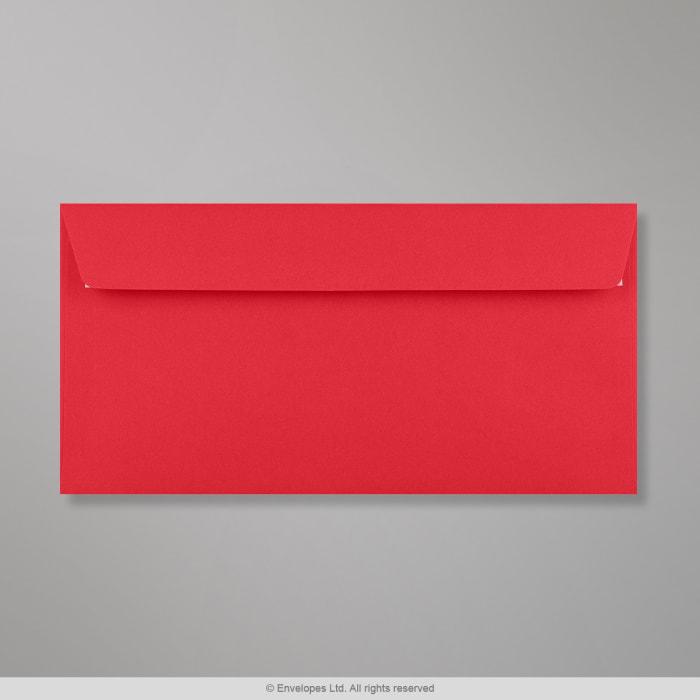 Sobre Clariana rojo de 110x220 mm (DL)