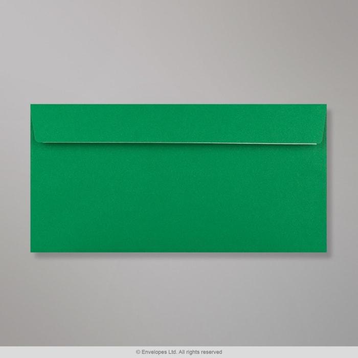Clariana, tummanvihreä kirjekuori 110x220 mm (DL)