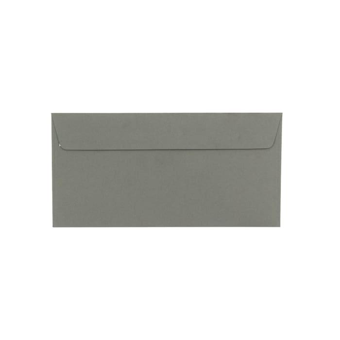 110x220 mm (DL) Clariana Donkergrijs Envelop