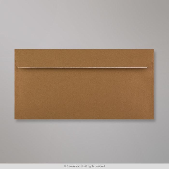Clariana, keskiruskea kirjekuori 110x220 mm (DL)