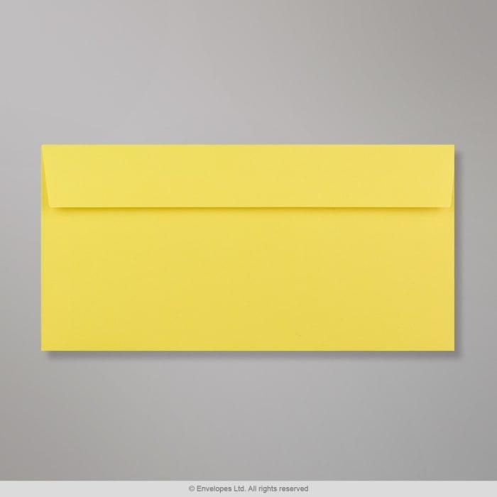 Enveloppe Clariana jaune vive 110x220 mm (DL)
