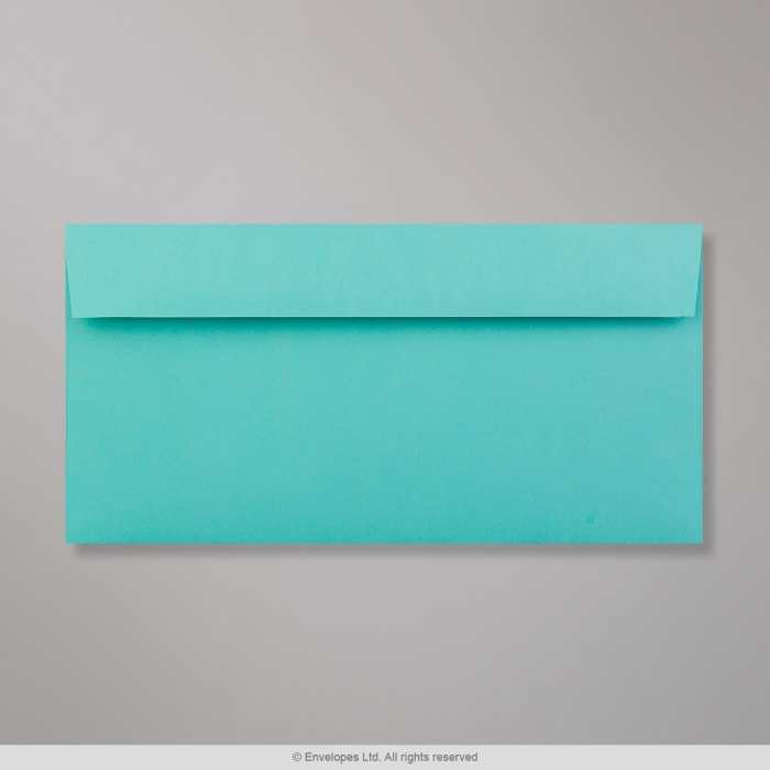 Blå (Robin Egg Blue) Clariana-konvolut 110x220 mm (DL)