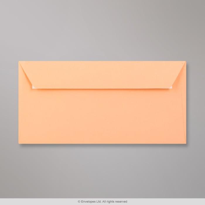 Clariana, lohenpunainen kirjekuori 110x220 mm (DL)
