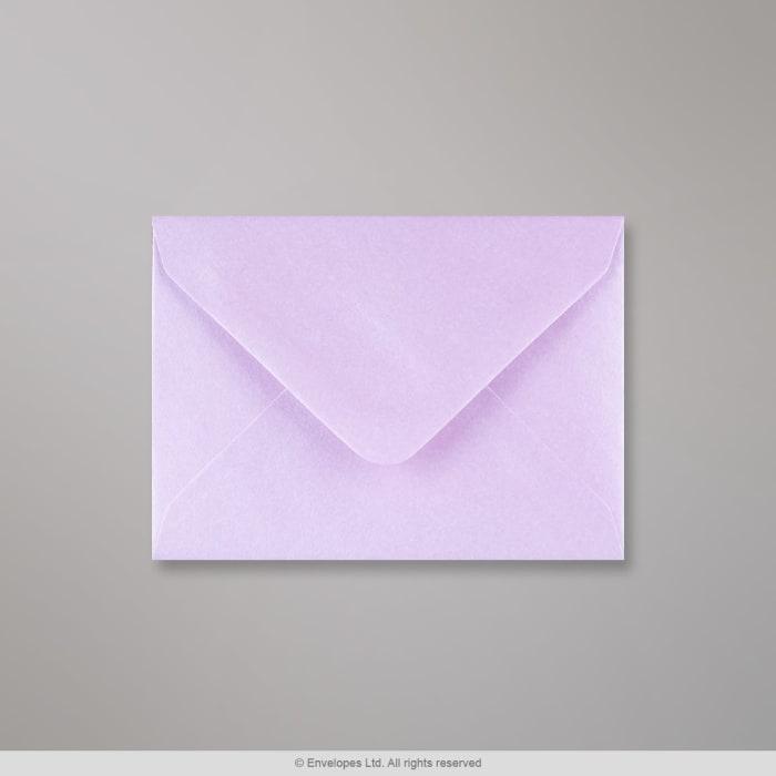 Enveloppe lilas brillante 82x113 mm (C7)
