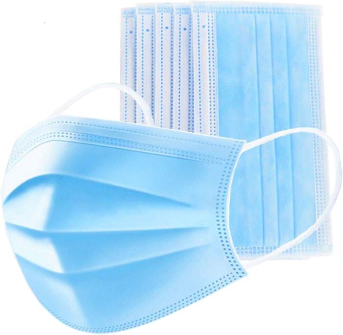 Mascarilla higiénica de 3 capas (50pcs/caja)
