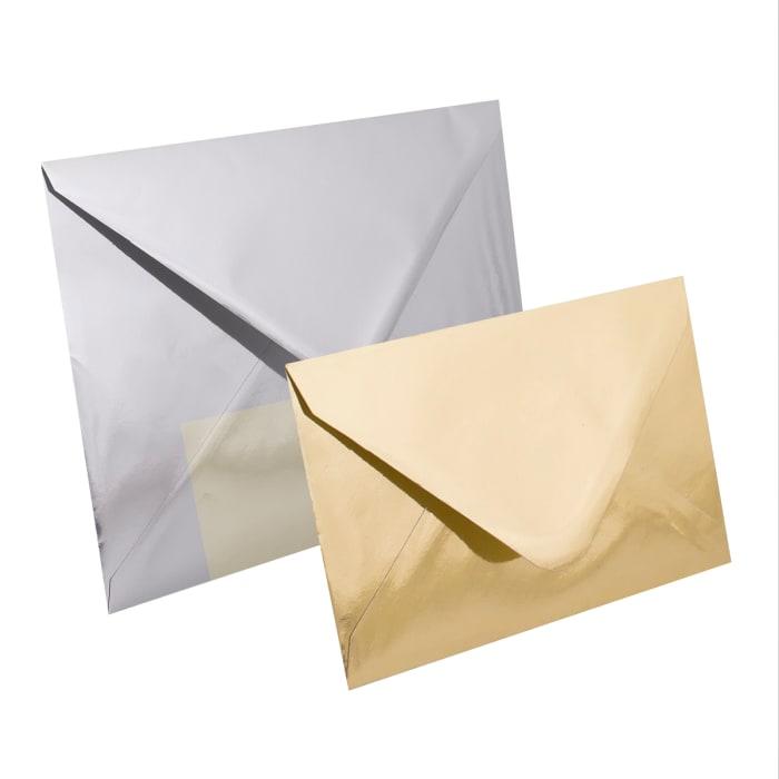 Heijastavaksi viimeistelty kirjekuori